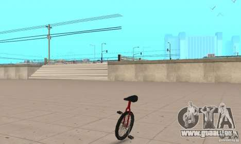 Unicycle für GTA San Andreas