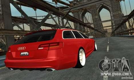 Audi A6 Avant Stanced für GTA San Andreas linke Ansicht