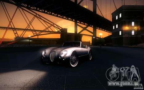 Wiesmann MF3 Roadster pour GTA San Andreas vue de dessous