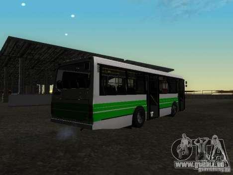 LAZ 42021 LRS pour GTA San Andreas laissé vue