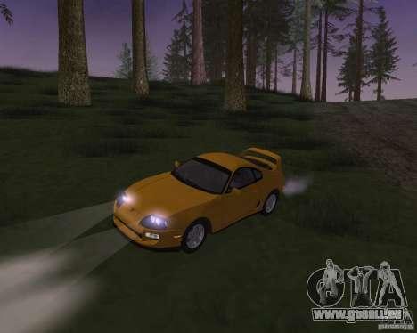 Toyota Supra 3.0 24V pour GTA San Andreas vue intérieure