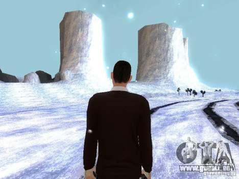 Snow MOD HQ V2.0 pour GTA San Andreas deuxième écran