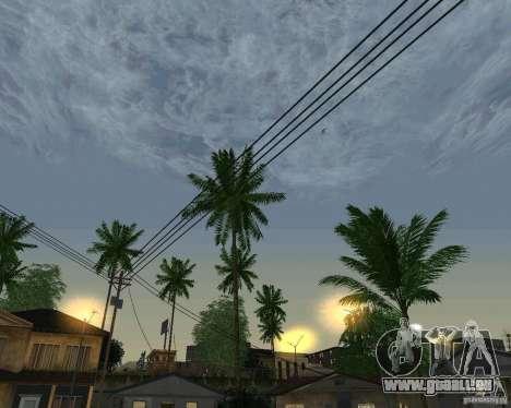 Neue Wolken für GTA San Andreas siebten Screenshot