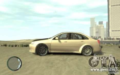 Chevrolet Lacetti Street Tune pour GTA 4 est une gauche