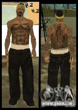 Vagos Gang Skins pour GTA San Andreas dixième écran
