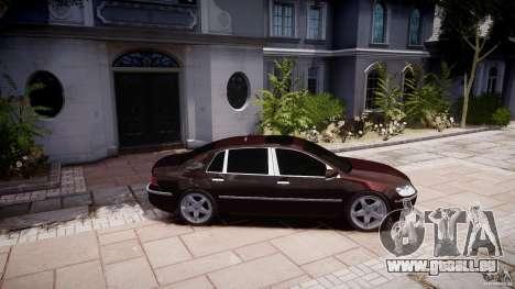 Volkswagen Phaeton W12 Long pour GTA 4 est une gauche