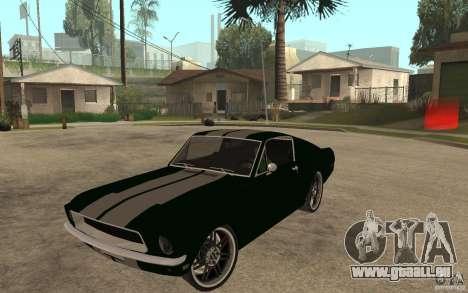 Ford Mustang TOKYO DRIFT für GTA San Andreas