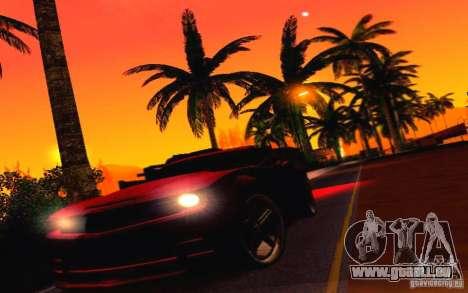 Chevrolet Camaro Tuning pour GTA San Andreas vue de côté