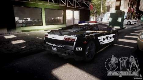 Lamborghini Gallardo LP570-4 Superleggera 2011 für GTA 4 obere Ansicht