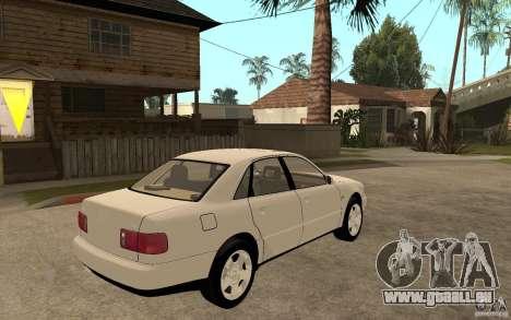 Audi A8 4.8L 2000 für GTA San Andreas rechten Ansicht