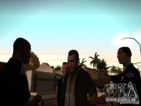 Nouvelles histoires Niko Bellis pour GTA San Andreas troisième écran