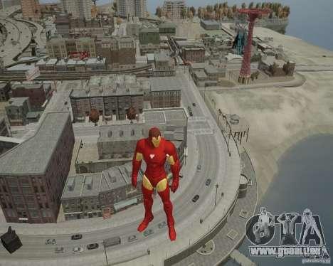 Iron Man Mk3 Suit für GTA 4 siebten Screenshot