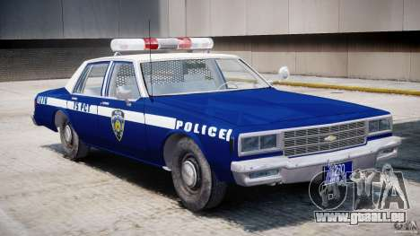 Chevrolet Impala Police 1983 [Final] für GTA 4 linke Ansicht