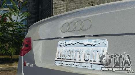 Audi RS6 2010 v1.1 für GTA 4 Seitenansicht