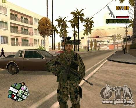 Neue Soldaten für GTA San Andreas