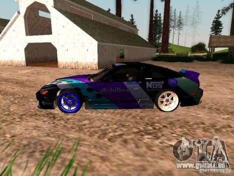 Nissan Sil80 Nate Hamilton pour GTA San Andreas laissé vue