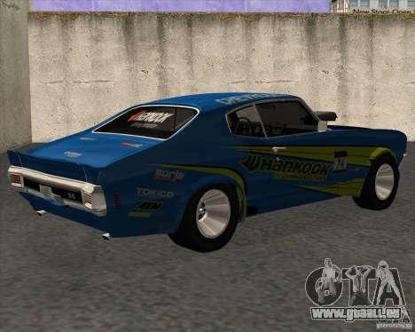 Chevrolet Chevelle SS 1970 pour GTA San Andreas laissé vue