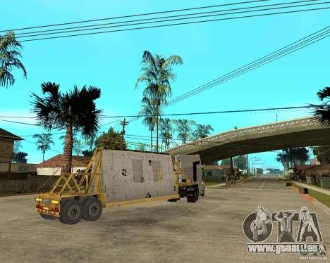 Patch remorque v_1 pour GTA San Andreas vue arrière