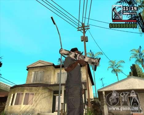 Verbesserte RPG-18 für GTA San Andreas