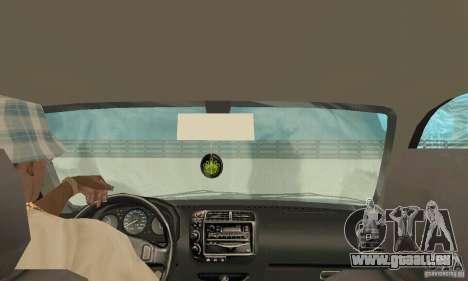 Honda-Superpromotion pour GTA San Andreas vue intérieure