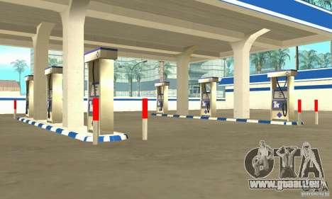 Station de remplissage TNK pour GTA San Andreas deuxième écran