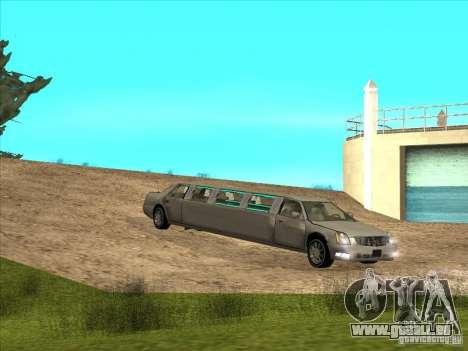 Cadillac DTS 2008 Limousine pour GTA San Andreas