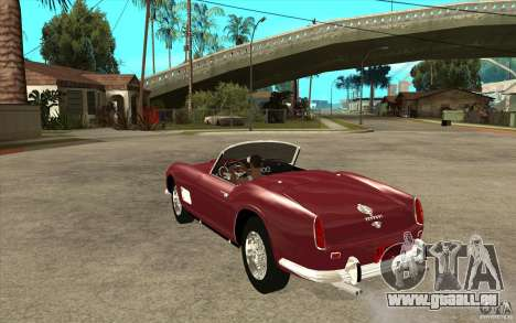 Ferrari 250 California 1957 für GTA San Andreas zurück linke Ansicht