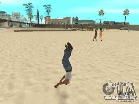 Parkour 40 mod pour GTA San Andreas sixième écran