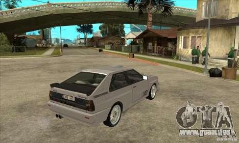 Audi Quattro pour GTA San Andreas vue arrière