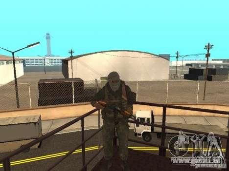 Dušman 2 von COD4MW für GTA San Andreas