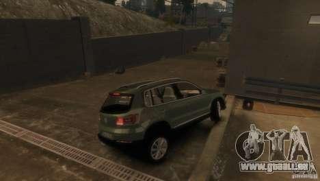 Volkswagen Tiguan für GTA 4 hinten links Ansicht