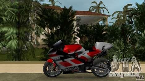 Yamaha YZR 500 V1.2 pour une vue GTA Vice City de la gauche