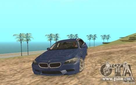 BMW M5 F11 Touring pour GTA San Andreas moteur