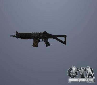 Pak hautes armes polygonales pour GTA San Andreas deuxième écran