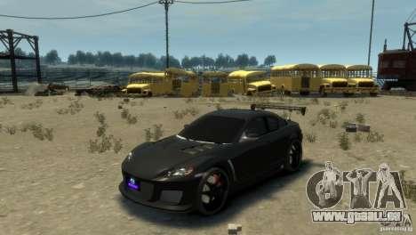 MAZDA RX8 pour GTA 4