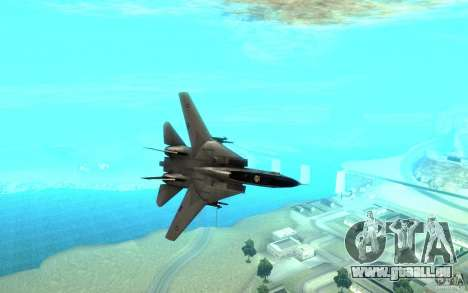F-14A Screaming Eagles VF-51 für GTA San Andreas Rückansicht