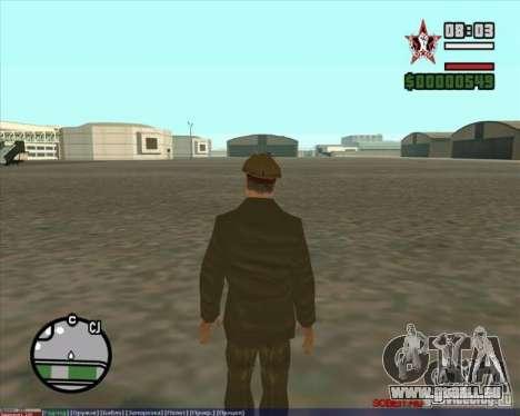Staline pour GTA San Andreas troisième écran