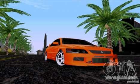 Mitsubishi Lancer Evolution IX 2006 für GTA San Andreas