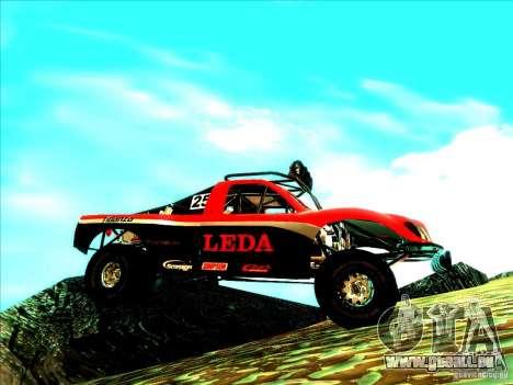 Toyota Tundra Rally pour GTA San Andreas vue de côté