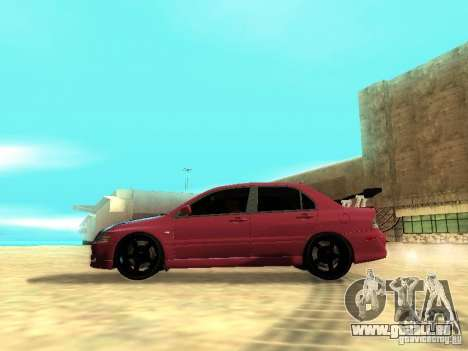 Mitsubishi Lancer IX MR für GTA San Andreas linke Ansicht
