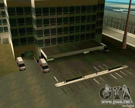 Véhicules stationnés v2.0 pour GTA San Andreas septième écran