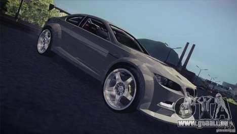 BMW M3 E92 Tuned pour GTA San Andreas vue de côté