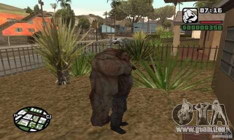 Tank von der Left 4 Dead für GTA San Andreas dritten Screenshot