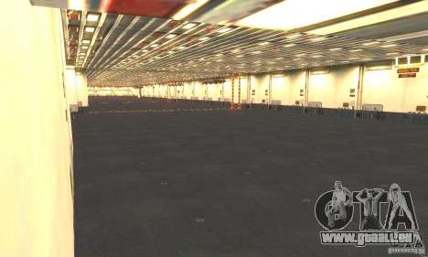 CVN-68 Nimitz pour GTA San Andreas cinquième écran