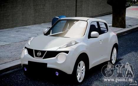Nissan Juke für GTA 4 hinten links Ansicht