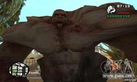 Tank von der Left 4 Dead für GTA San Andreas her Screenshot