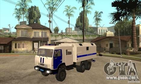 KAMAZ Police pour GTA San Andreas