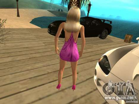 Mia Pinky pour GTA San Andreas deuxième écran