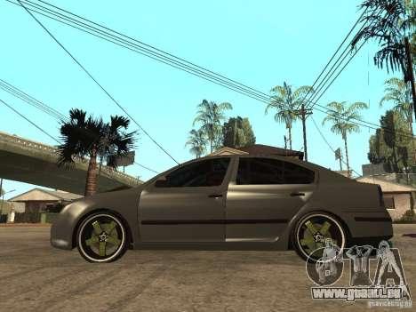Skoda Octavia Custom Tuning pour GTA San Andreas laissé vue