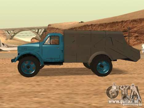 GAZ 51 Müllwagen für GTA San Andreas linke Ansicht